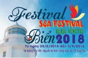 Festival Biển Bà Rịa - Vũng Tàu 2018 sẽ diễn ra từ 28/8 - 3/9