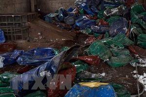 Trên 100 tấn phế liệu nhập lậu qua biên giới Tây Ninh mỗi ngày