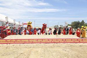 Doosan đưa cụm công nghiệp mới vào KTT Dung Quất, tạo việc làm cho hàng trăm lao động