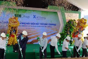 BIM Group sắp vận hành nhà máy điện mặt trời 'khủng' nhất Đông Nam Á