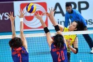Thua Đài Loan, bóng chuyền nữ Việt Nam gặp khó tại ASIAD 2018