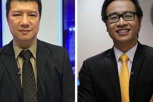 BLV Quang Huy bác thông tin bình luận cùng Tạ Biên Cương trận Olympic VN-Bahrain