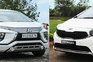 MPV giá rẻ tại Việt Nam - Mitsubishi Xpander hay Kia Rondo?