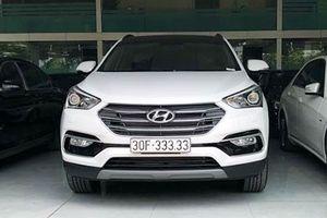 Hyundai Santafe biển 'ngũ quý 3' bán 2,5 tỷ tại Hà Nội