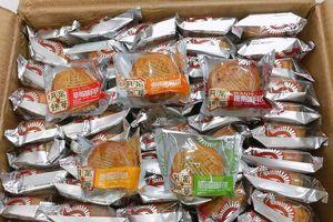 Cận cảnh bánh trung thu Trung Quốc siêu rẻ chỉ 3.000 đồng/chiếc