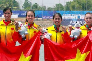 Đoàn Việt Nam có huy chương vàng đầu tiên ở ASIAD 18