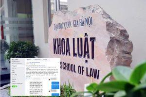 Vụ giảng viên bị tố quấy rối nữ sinh: Khoa Luật khẳng định có dấu hiệu vi phạm quy chế