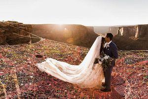 Lễ cưới đẹp như thiên đường ở độ cao 120m giữa không trung