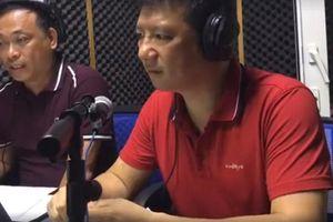 Hậu trường BLV Quang Huy - Quang Tùng bình luận trận Việt Nam-Bahrain