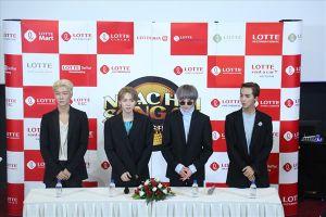 Nhóm nhạc Hàn Quốc Winner muốn thử bánh tráng trộn, bún đậu mắm tôm