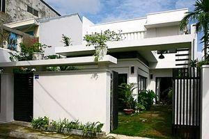 Nhà phố hai tầng đậm chất thôn quê ở Đà Nẵng