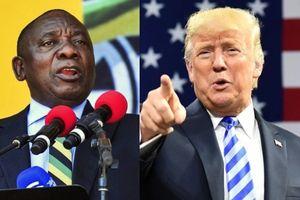 Ông Trump dè bỉu chương trình cải cách ruộng đất của Nam Phi