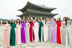 Top 15 Miss Supranational Vietnam diện áo dài Kinzu gây sốt ở Hàn Quốc