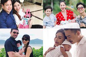 Loạt nhóc tì nhà sao Việt mới chào đời đáng yêu vô cùng
