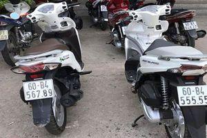Dàn xe ga Honda Vison biển độc giá trăm triệu ở Việt Nam