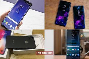 FPT Shop giảm giá 'sốc' cuối tuần: iPhone X, Galaxy S9, Galaxy S9+ giảm tới 3 triệu đồng