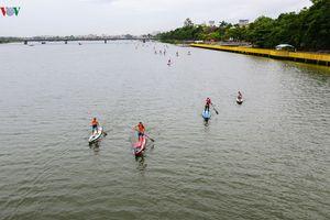 Giải SUP lần đầu tiên được tổ chức tại Việt Nam