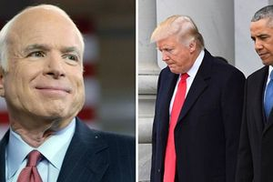 Tổng thống Trump và các quan chức Mỹ chia buồn trước sự ra đi của Thượng nghị sỹ John McCain