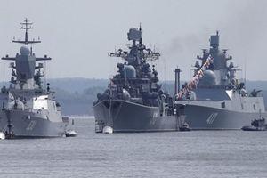 17 tàu chiến Nga ùn ùn tới Syria sau lời đe dọa không kích của Mỹ