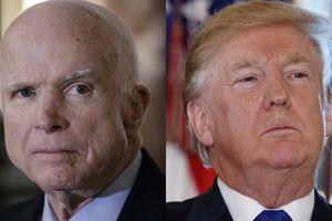 McCain công kích TT Trump trong thông điệp cuối cùng