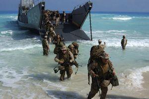 Phớt lờ Trung Quốc, Mỹ lần đầu điều thủy quân lục chiến tới Đài Loan