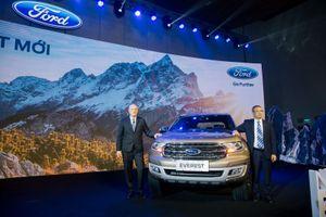 Giá lăn bánh xe Ford Everest 2018