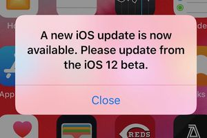 Người dùng Apple 'phát điên' vì iOS 12 beta liên tục nhắc nhở cập nhật phần mềm