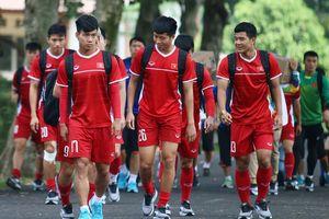 Học sinh trường quốc tế được nghỉ để xem Olympic Việt Nam tập luyện