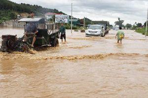 Sơn La, Hòa Bình: Ngập cục bộ do mưa lũ, Quốc lộ 6 'tê liệt'