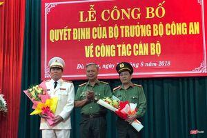 Bổ nhiệm Cục trưởng Cục tham mưu Cảnh sát làm Giám đốc Công an Đà Nẵng