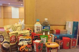 11 thương hiệu thực phẩm hàng đầu Hàn Quốc được bày bán tại Hà Nội
