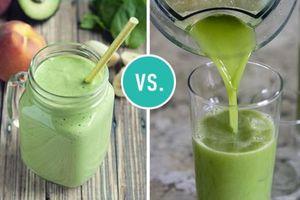 Sinh tố hay nước ép trái cây tốt hơn cho bạn?