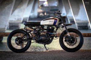 Mẫu độ Yamaha SR500 tốn 7 năm để thực hiện