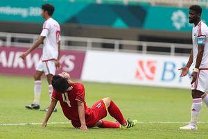 Olympic Việt Nam - UAE (pen 3-4): Việt Nam thất bại sau loạt đá luân lưu 11m