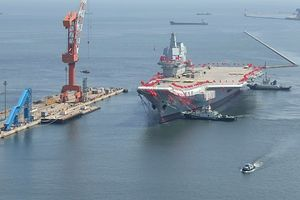 Trung Quốc chạy thử tốc độ cao tàu sân bay mới nhất tại biển Hoàng Hải