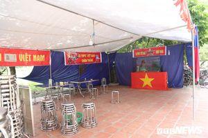 Gia đình Quang Hải dựng rạp, mở tiệc đón người hâm mộ cổ vũ đội tuyển Olympic Việt Nam tranh huy chương đồng