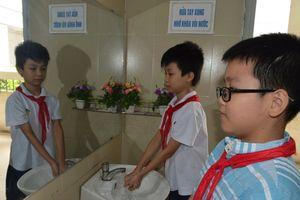 Nhà vệ sinh thân thiện ở Trường Tiểu học Ái Mộ A