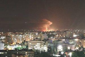 Syria bị tấn công giữa đêm, hệ thống phòng không vào trận?