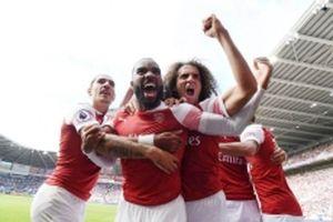 Arsenal thắng kịch tính Cardiff 3-2