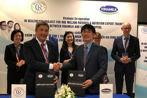 Vinamilk 'bắt tay' Bệnh viện Chợ Rẫy chăm sóc sức khỏe 1 triệu bệnh nhân