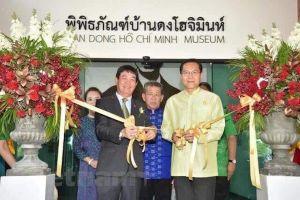 Khánh thành Bảo tàng Hồ Chí Minh tại miền Bắc Thái Lan