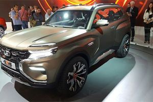 Mục sở thị SUV giá rẻ của Nga-Lada 4x4 Vision