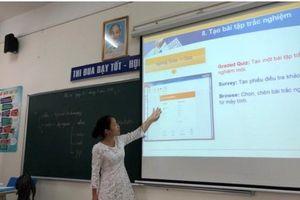 Quận Long Biên: Thành công với mô hình 'Trường học điện tử'