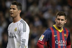 Messi: 'Ronaldo rời đi khiến Real Madrid suy yếu'