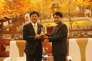 Hà Nội: Tăng cường hợp tác với Nhật Bản trong xử lý ô nhiễm môi trường