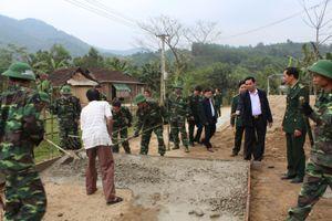 Bộ đội biên phòng Hà Tĩnh: Yêu nước bằng những việc làm thiết thực