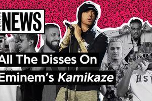 Những nghệ sĩ Rap bị Eminem réo tên trong album 'Kamikaze'