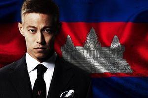 Keisuke Honda tập luyện cùng tuyển Campuchia, chuẩn bị đối đầu thầy trò Park Hang-seo ngày 24.11