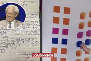 Ai là người sáng lập phương pháp đọc 'chữ ô vuông, tam giác'?