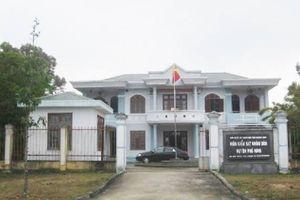 Viện phó VKSND huyện Phú Ninh, Quảng Nam bị kỷ luật cảnh cáo